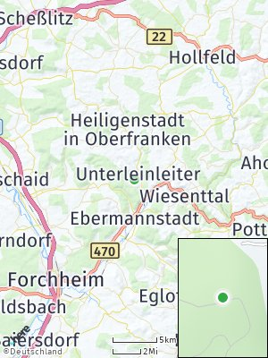 Here Map of Unterleinleiter