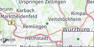 Google Map of Greußenheim