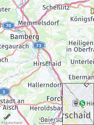 Here Map of Hirschaid