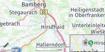 Google Map of Hirschaid