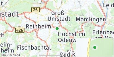 Google Map of Otzberg