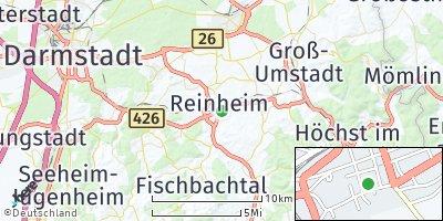 Google Map of Reinheim