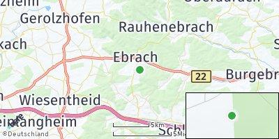 Google Map of Ebrach