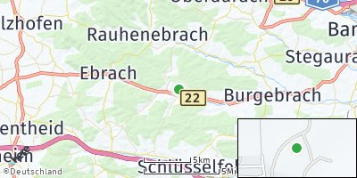 Google Map of Burgwindheim