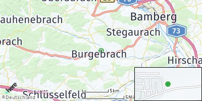 Google Map of Burgebrach