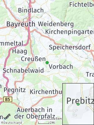 Here Map of Prebitz