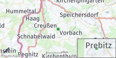Google Map of Prebitz