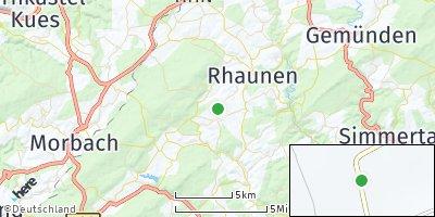Google Map of Hottenbach