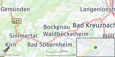 Google Map of Bockenau