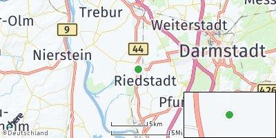 Google Map of Riedstadt