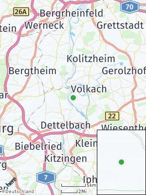 Here Map of Nordheim am Main
