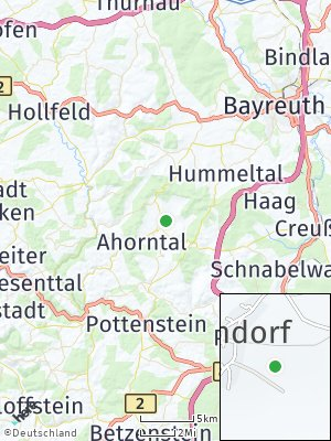 Here Map of Ahorntal