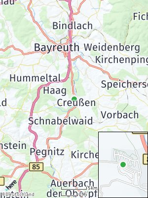 Here Map of Creußen