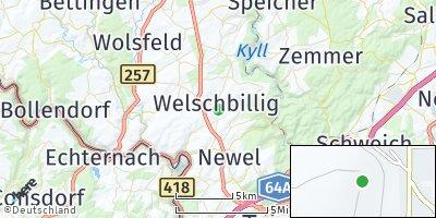 Google Map of Welschbillig