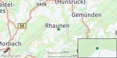 Google Map of Rhaunen