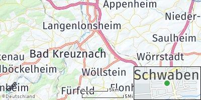 Google Map of Pfaffen-Schwabenheim