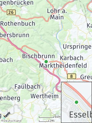 Here Map of Esselbach