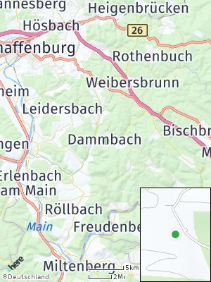 Here Map of Dammbach