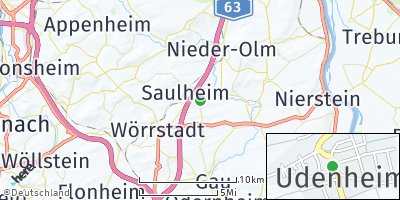 Google Map of Udenheim