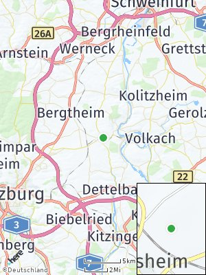 Here Map of Prosselsheim