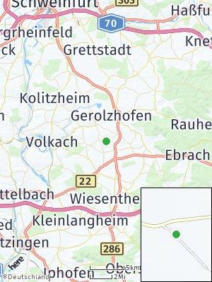 Here Map of Lülsfeld