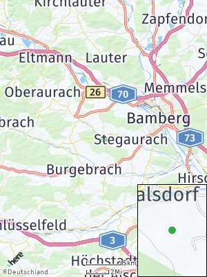 Here Map of Walsdorf