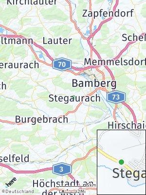Here Map of Stegaurach