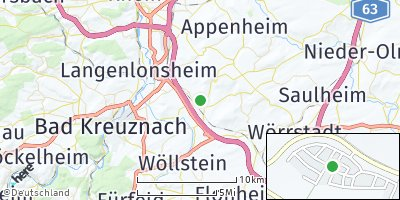 Google Map of Sprendlingen