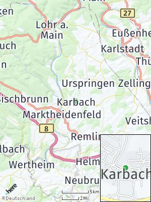 Here Map of Karbach