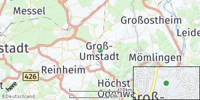 Google Map of Groß-Umstadt