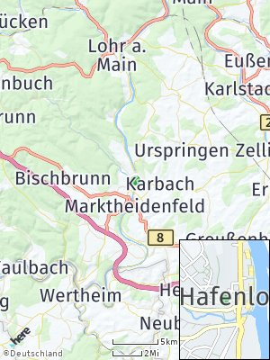 Here Map of Hafenlohr