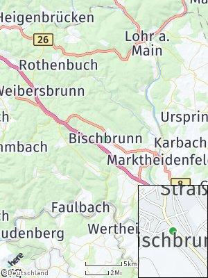 Here Map of Bischbrunn