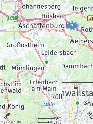 Here Map of Kleinwallstadt