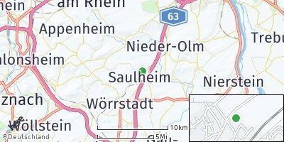 Google Map of Saulheim