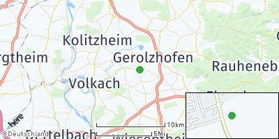 Google Map of Frankenwinheim