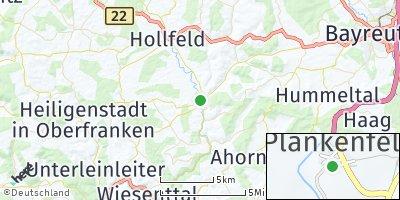 Google Map of Plankenfels