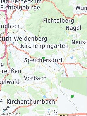 Here Map of Speichersdorf