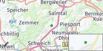 Google Map of Hetzerath