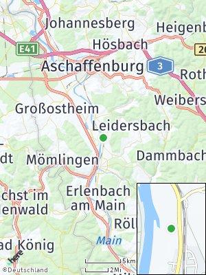 Here Map of Großwallstadt