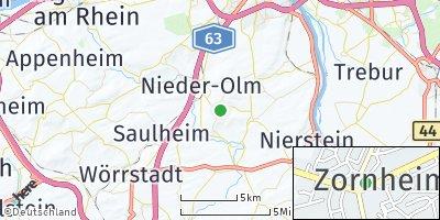Google Map of Zornheim
