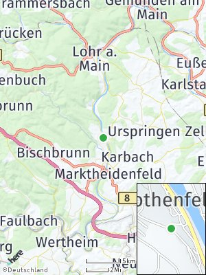 Here Map of Rothenfels