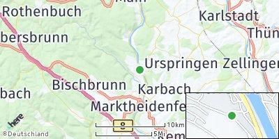 Google Map of Rothenfels