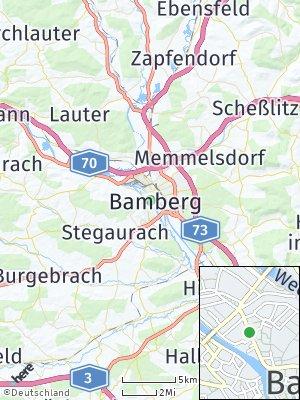 Here Map of Bamberg