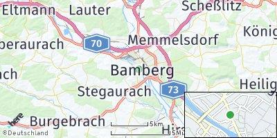 Google Map of Bamberg