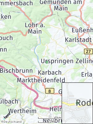 Here Map of Roden