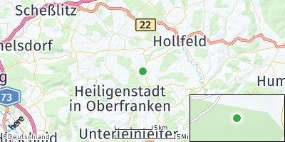 Google Map of Aufseß