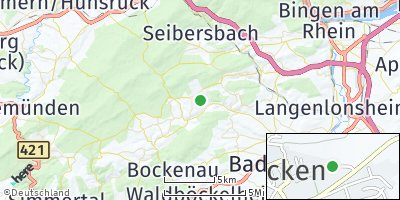 Google Map of Spabrücken