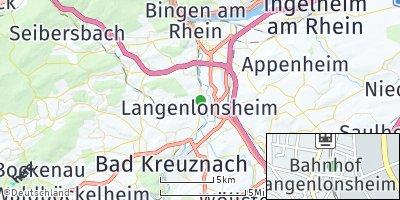 Google Map of Langenlonsheim