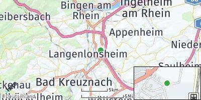 Google Map of Gensingen