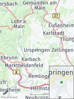 Here Map of Urspringen